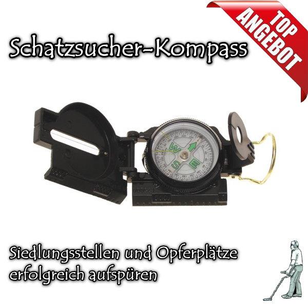 Schatzsucher-Kompass mit Anleitung